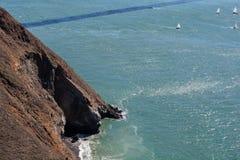 Bay& x27; opinião de s, San Francisco imagens de stock