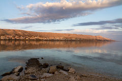 The bay of Pag Royalty Free Stock Image