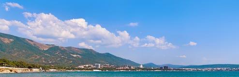 Bay panorama Stock Photos