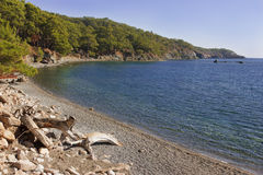 Bay at Phaselis, Turkey Stock Image