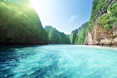Phi phi island in Thailand Stock Images