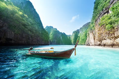 Bay at Phi phi island Royalty Free Stock Photography