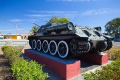 The Bay of Pigs Museum in Playa Giron, Cuba Royalty Free Stock Image