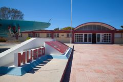 The Bay of Pigs Museum in Playa Giron, Cuba Royalty Free Stock Photos