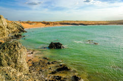 Bay at Pilon de Azucar Royalty Free Stock Image