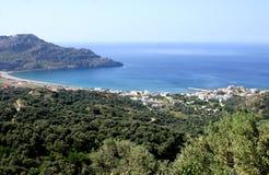 Bay of Plakias Stock Photo