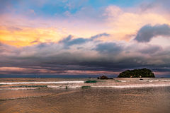 Bay Of Plenty sunset Royalty Free Stock Photography