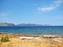 Bay of Pollenca / Formentor, north Majorca Royalty Free Stock Image