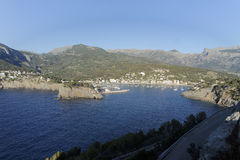 Bay of port de soller on mallorca Royalty Free Stock Photography