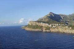 Bay of port de soller on mallorca Royalty Free Stock Photos