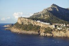 Bay of port de soller on mallorca Stock Image