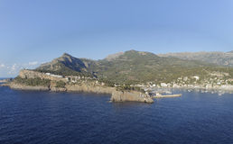Bay of port de soller on mallorca Royalty Free Stock Images