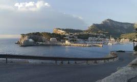 Bay of port de soller on mallorca Stock Photography