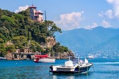 Bay of Portofino, Italy. Stock Images