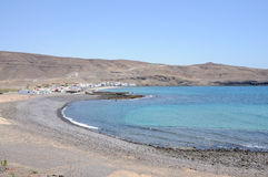 Bay of Pozo Negro, Fuerteventura, Spain Royalty Free Stock Image