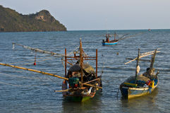 Bay of Prachuap Khiri Khan Royalty Free Stock Photos