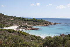 Sardinia Bay of Prince Royalty Free Stock Image