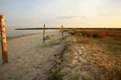 Bay of Puck – Baltic sea – Poland. Stock Photos