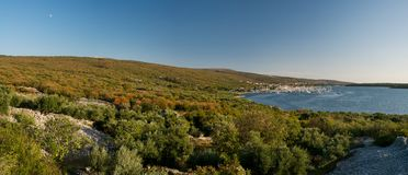 Bay in Punat Royalty Free Stock Photography