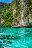Bay with Rocks - South Thailand Stock Photography