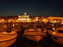 Bay of Rovinj Royalty Free Stock Photography