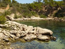 Bay of Sa Dragonera Mallorca Stock Photography