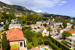 Bay on Saint-Jean-Cap-Ferrat near Nice Stock Photo
