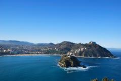 Bay of San Sebastian Stock Image