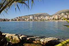 Bay of saranda Stock Image
