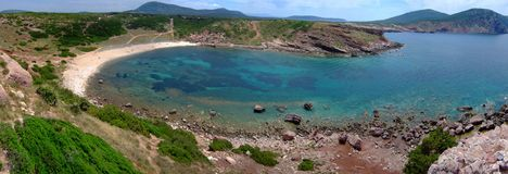 Bay in Sardinia Royalty Free Stock Photography
