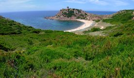 Bay in Sardinia Royalty Free Stock Photos
