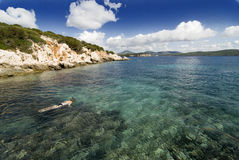 Bay in Sardinia Royalty Free Stock Photo