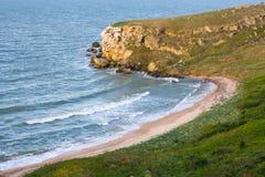 Bay in sea coast Royalty Free Stock Photography