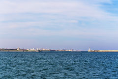 Bay in Sevastopol Stock Photography