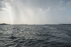 Bay of Sevastopol at the storm Stock Photos