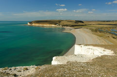 Bay at Seven Sisters Stock Images