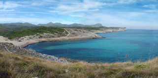 Bay and Shore of Majorca, Spain. Royalty Free Stock Images