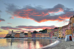 The bay of silence (baia del silenzio Royalty Free Stock Images