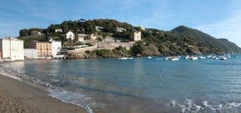 Bay of Silence in Sestri Levante Royalty Free Stock Photos