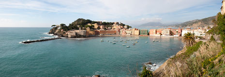 Bay of Silence in Sestri Levante Stock Photography