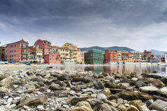 Bay of silence, Sestri Levante Stock Photo