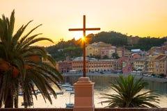 Bay of Silence. Sestri Levante, Liguria, Italy Royalty Free Stock Photos