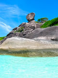 Bay of Similan Islands Royalty Free Stock Photography