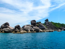 Bay of Similan Islands Royalty Free Stock Images
