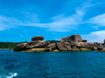 Bay of Similan Islands Stock Photo