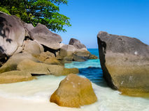 Bay of Similan Islands Royalty Free Stock Photos