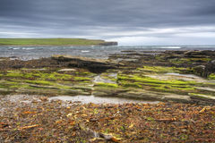 The Bay of Skaill in Orkney Royalty Free Stock Photos