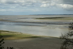 Bay of Somme in Picardie, France Royalty Free Stock Images