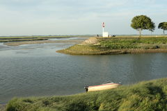 Bay of Somme in Picardie, France Stock Photos