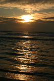 Bay-Sonnenuntergang Stockbild